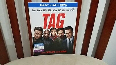 TAG (BLU-RAY ONLY 2018) Case+Artwork+Slipcovers INCLUDED.