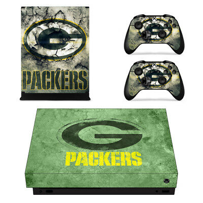 097 2 Controller Skins Vinyl Protector Skin Creative Xbox One X Green Bay Packers
