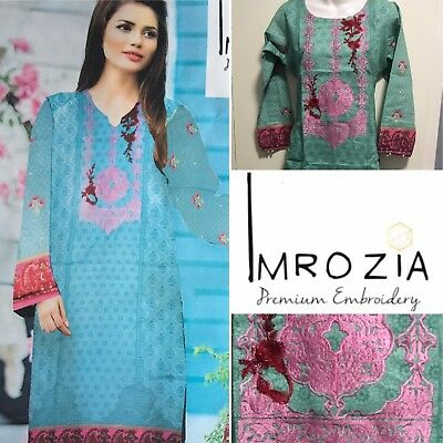 Stitched-Imrozia Embroidered 3 Piece Khaddar Suit Copy-winter Collection