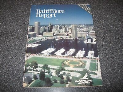 Vintage Piedmont Airlines Pace Magazine Featuring Baltimore Report-Ultra Rare