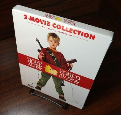 Home Alone/Home Alone 2 (Blu-ray Boxset)Slipcover-NEW-Free Shipping with Trackin