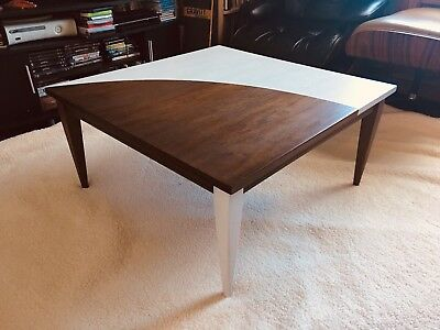 Mid Century Modern Vintage Danish Teak Coffee Table 1960's