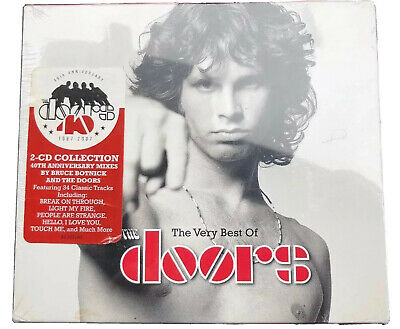 Very Best Of The Doors Jim Morrison (40th Anniversary Edition) 2 CD SET Sealed