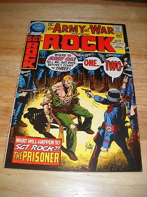 Our Army At War # 245 1972 Dc War Comic  Sgt. Rock Vg/fine Condition 5.0