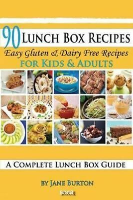 NEW 90 Lunch Box Recipes By Jane Burton Paperback Free Shipping