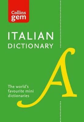 NEW Collins Gem Italian Dictionary By Collins Dictionaries Paperback