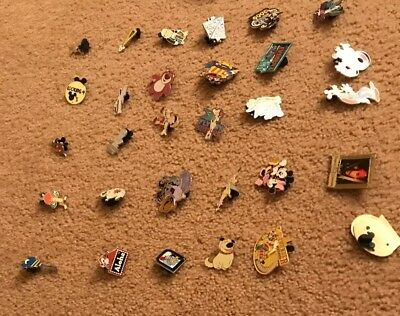 Disney Trading Pins-Lot of 30-HM-LE-Rack Plus Free Land yard-Free Shipping