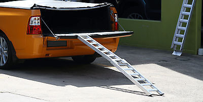 Aluminium Folding Motorcycle ATV Ramp **Clearance** 1880mm long