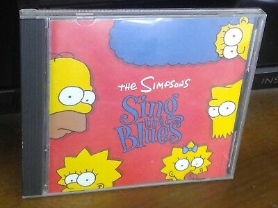 The Simpsons Sing the Blues by The Simpsons (Cartoon) (CD, Dec-1990, DGC)