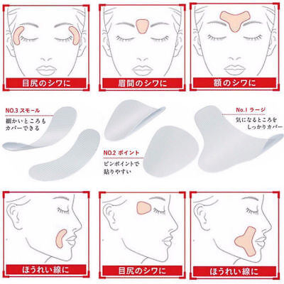 Revitelanb Ultra Thin Facial Lift Patches For Wrinkles /Uk