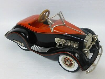 Hallmark 2001 Kiddi Car Classics 1935 Duesenberg Diecast Model,Light &Sound Work