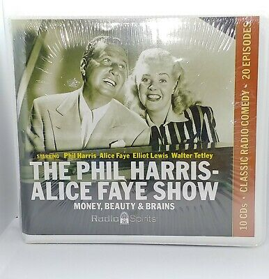 Radio Spirits Phil Harris Alice Faye Show Money Brains and Beauty 2008 10 CDs