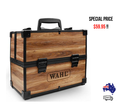 WAHL Large Empty Wooden Tool Case - SAME DAY / FREE SHIPPING AUS WIDE!!
