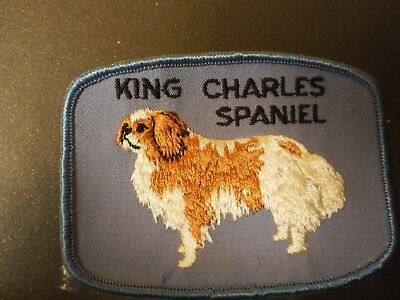 Grant Originals King Charles Spaniel Collectible Souvenir Dog Patch