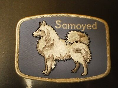 Grant Originals Samoyed Collectible Souvenir Dog Patch