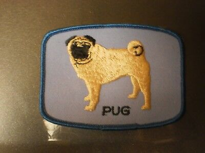 Grants Originals Pug Collectible Souvenir Dog Patch