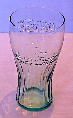 Coca Cola Collector Glass 2010 FIFA World Cup South Africa Green