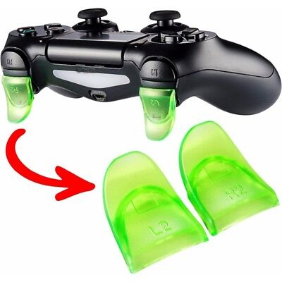 L2 R2 Extender Grip Buttons Anti Slip for PlayStation 4 PS4- Slim Pro Controller