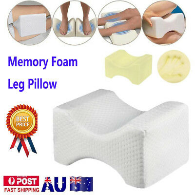 Memory Foam Leg Pillow Cushion Knee Support Pain Relief Shaping Washable Cover Q