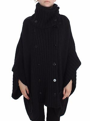 US6//S IT40 NEW $1900 DOLCE /& GABBANA Sweater Blue Knitted Oversize Cardigan s