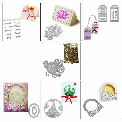 Metal Cutting Dies Stencil For DIY Scrapbooking Decor Craft Paper Cards Making