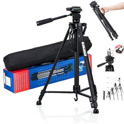 Professional Ball Head DSL Aluminium Portable Travel Camera Tripod For Camcorder