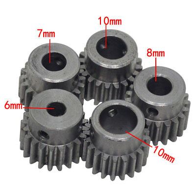 Iron Gear Metal Gears For Motor Toy DIY Part M1 20T Inner Diameter 6/7/8/10/12mm
