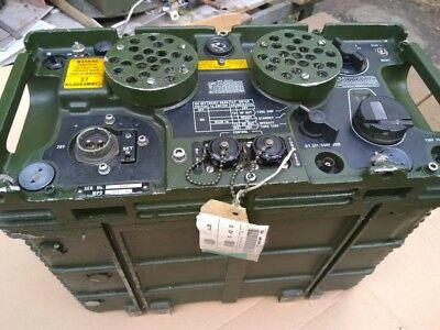 Clansman PRC350 radio and battery cassette SOR 1143638