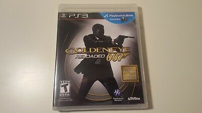 GoldenEye 007: Reloaded (Sony PlayStation 3, 2011) New Sealed