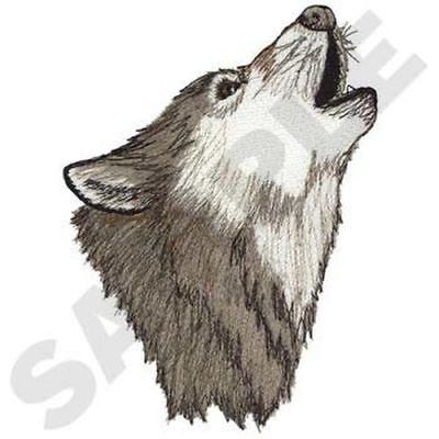 """Wolf, Wolves, Embroidered Patch 4.9""""x 7"""""""
