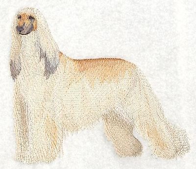 """Afghan Hound Dog - Embroidered Patch 5.4""""x 4.8"""""""