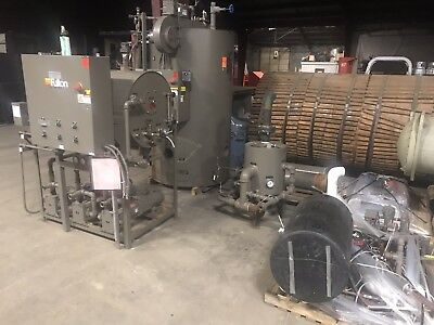 2014 30 Hp Fulton High Pressure Steam Boiler Complete System Ics30 150 Psi