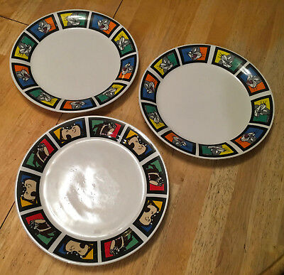 BUGS BUNNY and TAZ DINNER PLATES by Gibson - 3