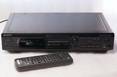 SONY MDS-JE500 Minidisc Player Digital Recorder with Original Remote RM-D7M