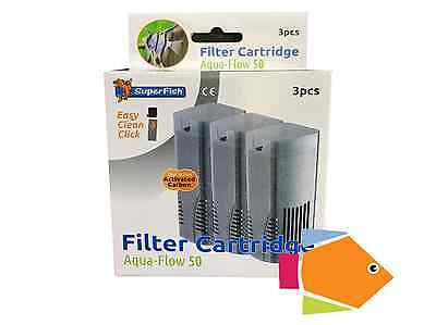 Superfish Filter Cartridge Aqua Flow 50 Triple Pack