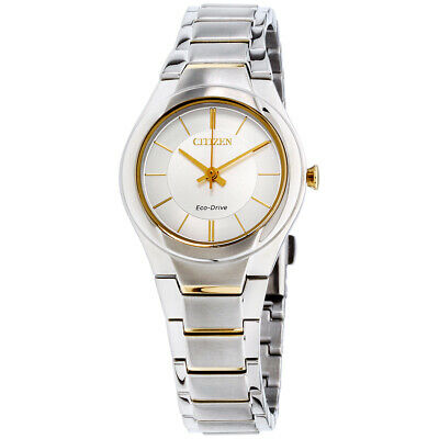 Citizen Paradigm Silver Dial Stainless Steel Ladies Watch FE2094-51A
