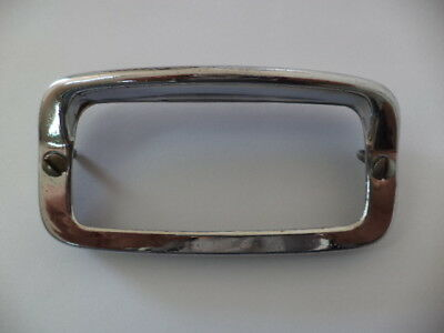 Hella 92Zr Back-Up Lamp Chrome Trim Bezel Volvo Pv544,p1800,vw 1200,karmann Ghia