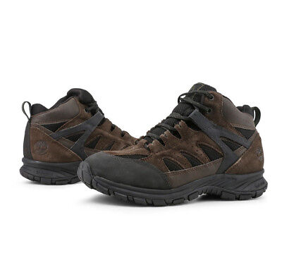 61b09eead22a Timberland Men s Sadler Pass Hiking Boots TB0A1KFPD4A Nubuck Dark Brown    Black
