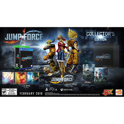 Jump Force Collector's Edition PS4 Playstation 4 Sony + Diorama Figure Ultimate