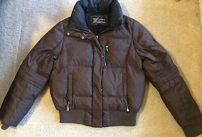 1a84d933ff SALOMON CLIMAPRO 10000 Women s Small Ski Jacket Brown -  20.00 ...