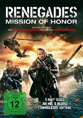 Various-Renegades-Mission Of Honor - (German Import) (Uk Import) Dvd New