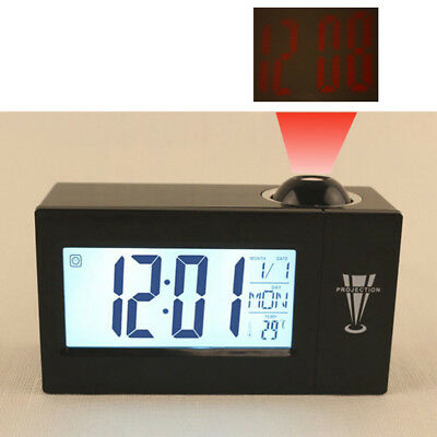 Digital Alarm Clock Multifunction With Voice Talking LED Time Projection Clock