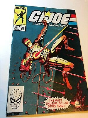 G.I. Joe #21 Silent Issue 1st App of Storm Shadow FN