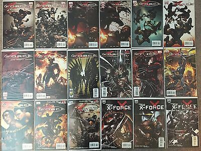 Comic Lot 126 Issues (X-Force, Secret Wars, AoA) w/ Free Shipping!
