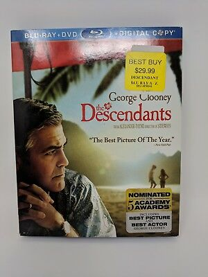 The Descendants Blu-ray Disc Only