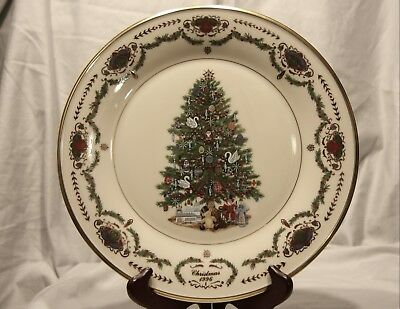 Lenox ~The Annual Christmas Trees Around the World Collector Plate 1996 Russia