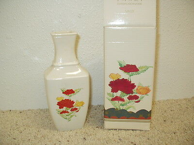 NIB Avon Imari Extraordinaire Vase in Original Box Dated 1991