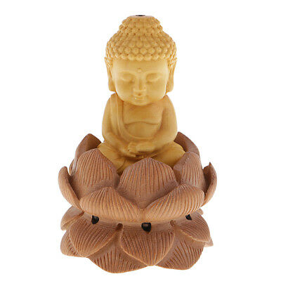 Bouddhisme En Bois Statue De Bouddha Figurine Collection Ornements