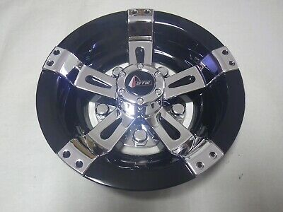"Golf Cart EZGO Yamaha Club Car 8"" Maverick Black