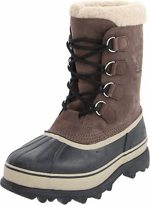 SOREL Men's Bruno Brown Caribou Winter Snow Boots Size 13 US 46 EUR New in Box